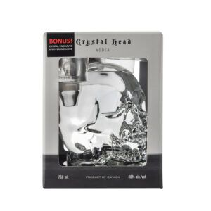 Crystal Head + Stopper Vodka